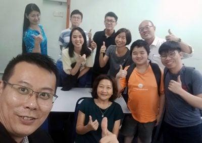 Japanese Language Course group